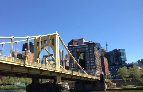 One of Pittsburgh's 446 Bridges