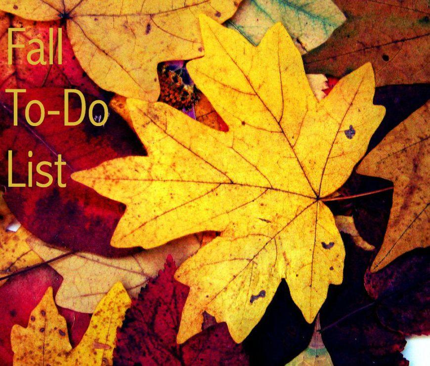 Fall To-Do List logo