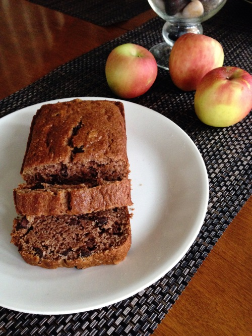 Vegan Applesauce Bread
