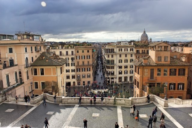 Spanish Steps | The Pace