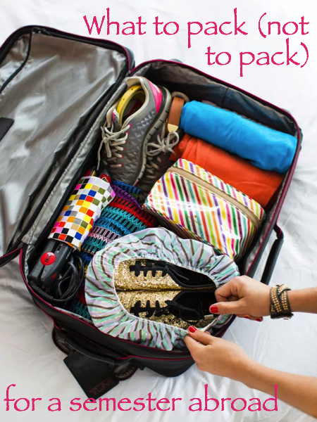 Packing for Study Abroad | The Pace